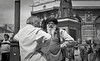 Walsall Saturday Old men in the sunshine (ryan63rd) Tags: street film beard pentax market scanned turban tmax400 walsall oldmen lx pentaxlx fd10 smcpk50mmf12 authenticphotography epsonv600