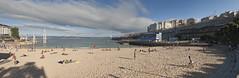 Praia de San Amaro-Barrio de Adomideras-A Corua (Turgalicia) Tags: sea boats corua acorua tranva marapita playadesanamaro ludica7 plauyaderiazor playadeaslapas