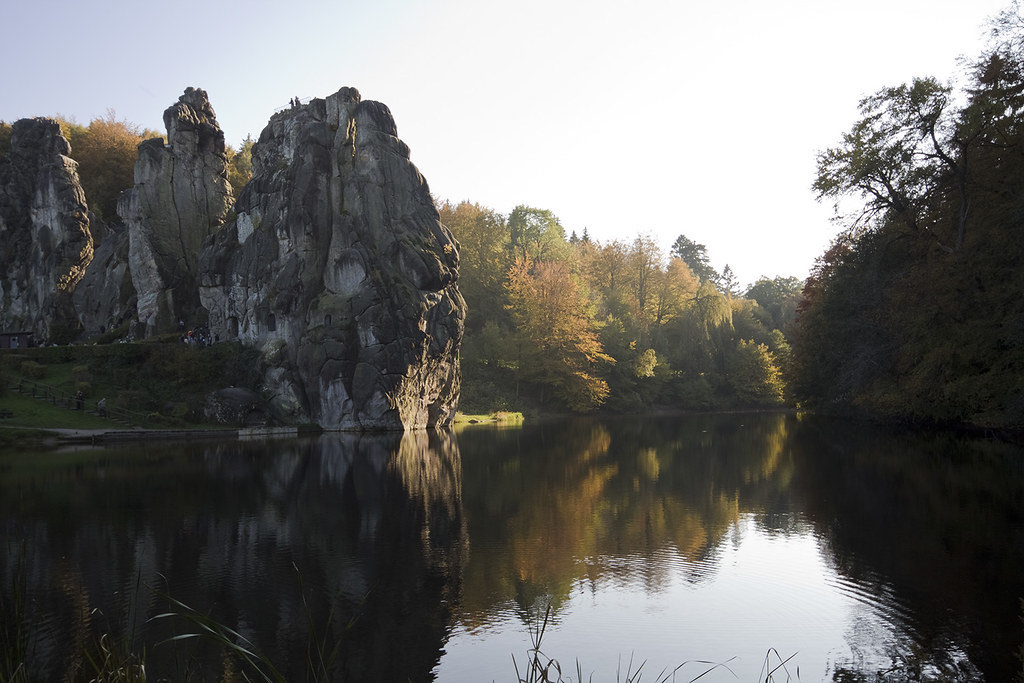 Externsteine - sacred place of Central Europe