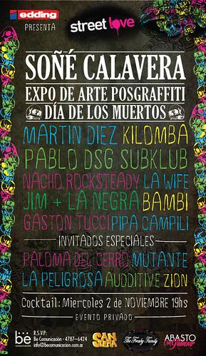 Soñe Calavera // Expo Dia de los Muertos by martin diez
