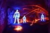 Fire Scorpion (quornflake) Tags: longexposure blue urban orange lightpainting man night fire graffiti weird fireworks surrey fisheye spooky lighttrails glowstick trippy sparks farnham