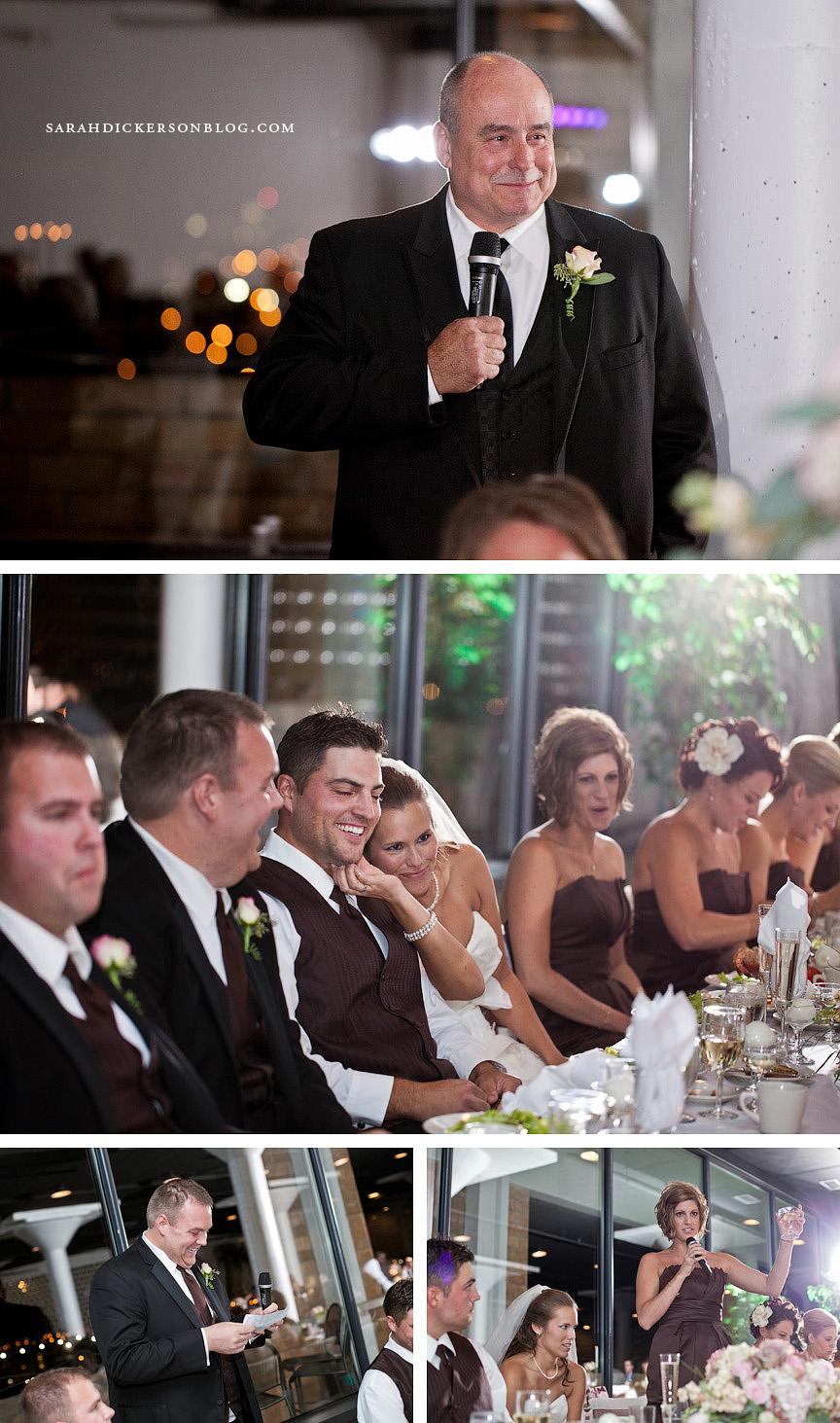 Windows off Washington St Louis wedding reception