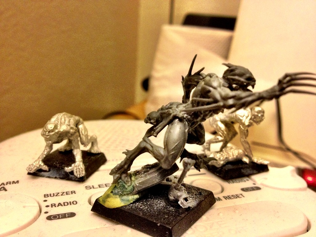 lizardmen - Start of Undead, Lizardmen, and Orcs 6284661349_d827e57ba1_b