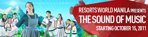 The Sound of Music at the Resorts World Manila