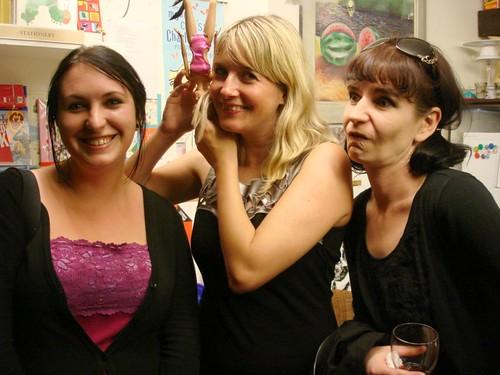 Bloody Parchment 2011: SA Partridge, Lauren Beukes, Sarah Lotz