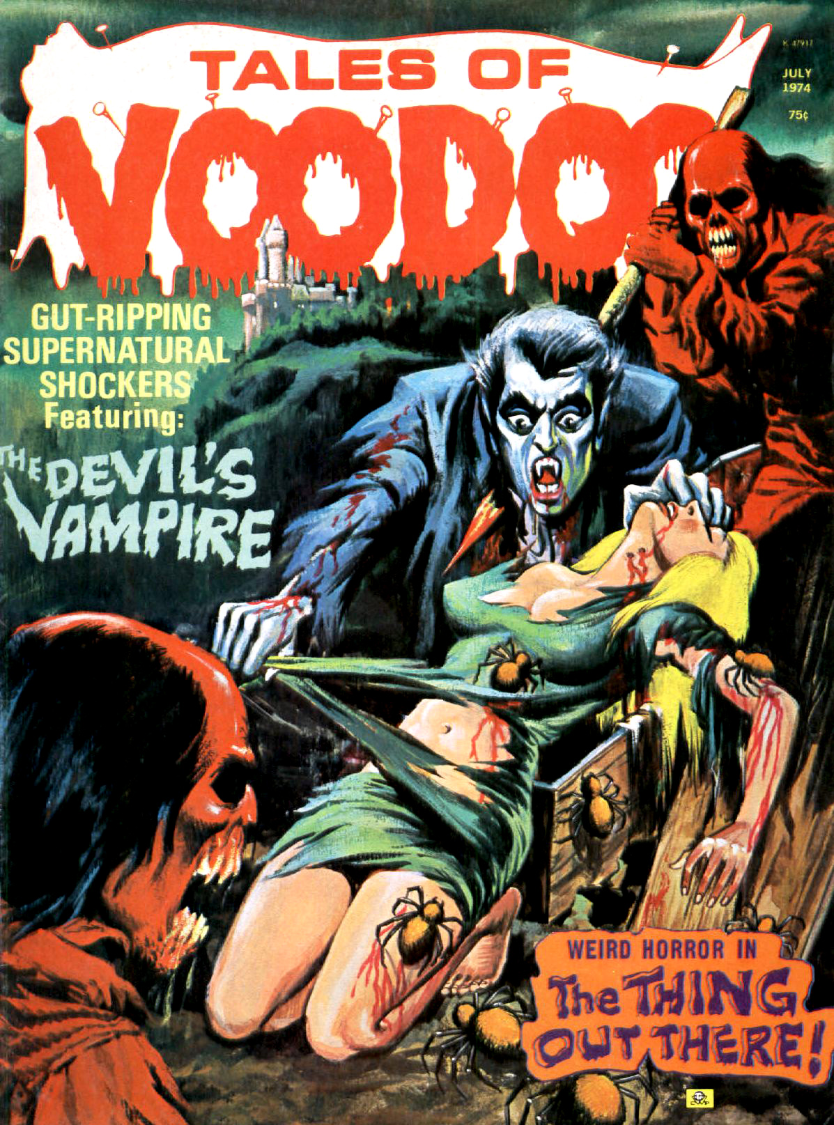 Tales of Voodoo Vol. 7 #4 (Eerie Publications 1974