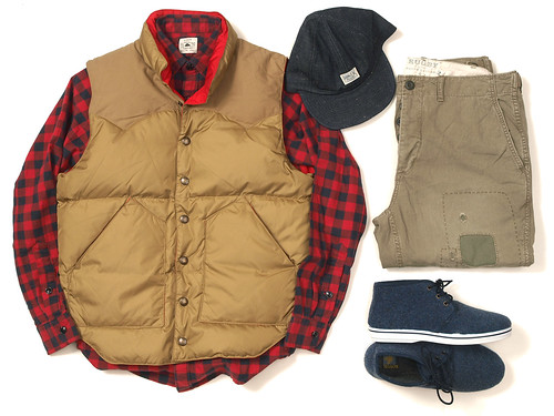 Rugby / Reversible Down Vest