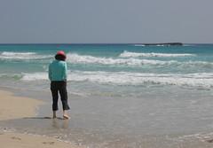 Menorca - Son Bou (mjfsscs500) Tags: blue sea beach island mar spain mediterranean mediterraneo mare waves espana naturist catalunya med menorca espania minorca sonbou isolebaleari nudest naturistbeach nudestbeach medinerrani