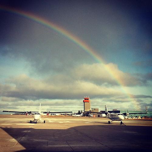single rainbow!