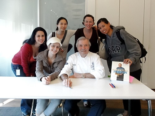 Me and My Girl Posse at Chef Jacques Pepin's Book Signing