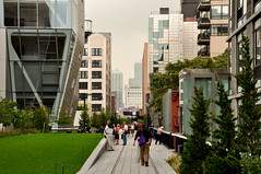 New York city High Line (Surrealplaces) Tags: new york city newyorkcity urban newyork skyline night centralpark gotham highline brookylnbridge