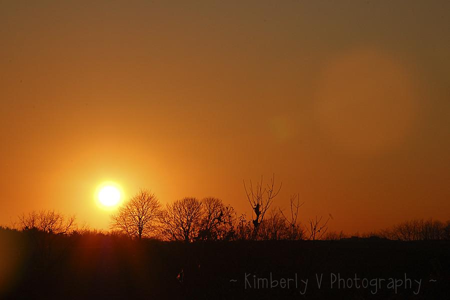 November 1 sunset