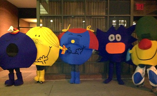 Mr Men and Little Miss at the New York Halloween Parade