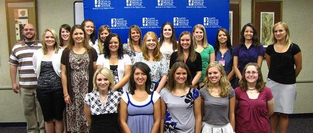2011 Saint Francis Healthcare Scholarship Recipients