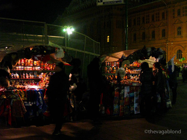 Street Vendors near Red Square