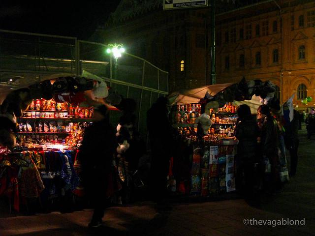 Street Vendors near Red Square