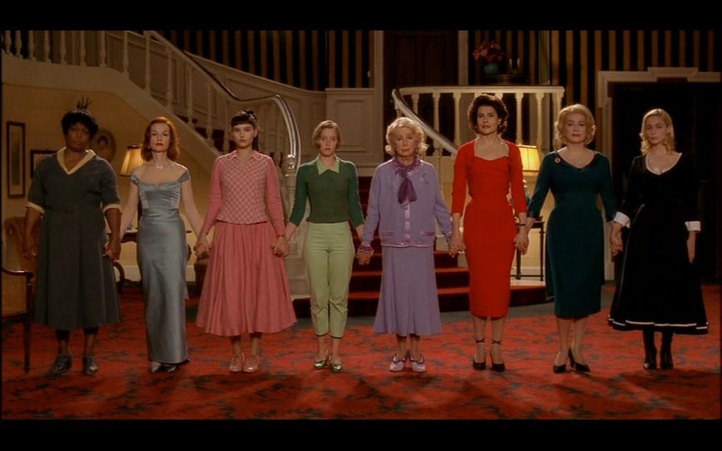 huit femmes.