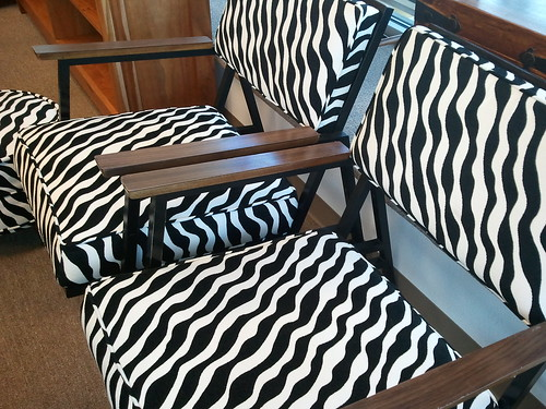 Striped chairs- on the wildside by wendysoucie