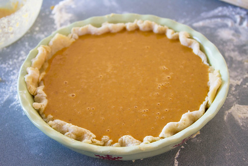 Apple Butter Pumpkin Pie - 2
