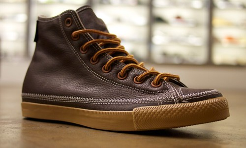 leather converse gum sole