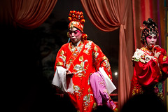 Chinese Opera (tamjty) Tags: show china red canon hongkong eos opera asia colours stage traditional chinese culture 7d acting framing tradition f28 chineseopera 70200mm