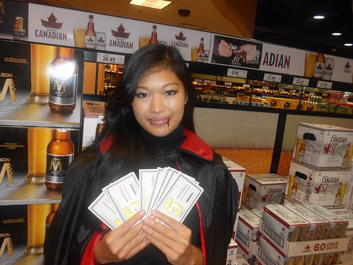 2011 BC Liquor Store Taxi Dollar Promo