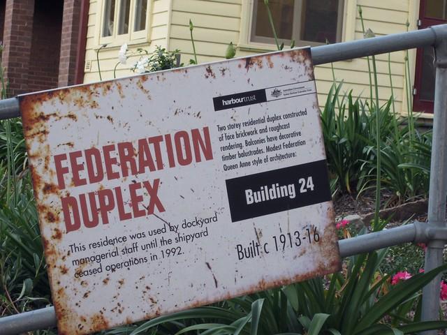 federation duplex