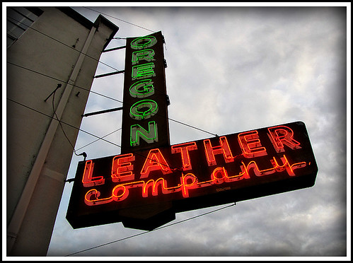 Oregon Leather Company - Lit once again!
