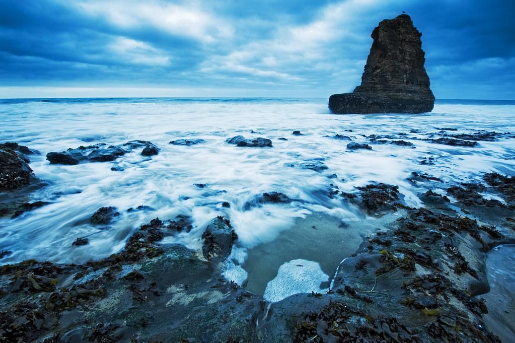 Davenport blue hour surf 2