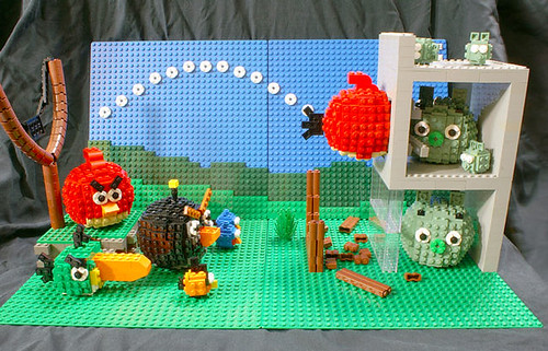 Angry Birds Lego Style