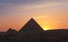 Gizeh - pyramid of Mycerinus (Toon E) Tags: sunset pyramid egypt gizeh 2011 mycerinus canon450d bestcapturesaoi mygearandme mygearandmepremium mygearandmebronze mygearandmesilver mygearandmegold mygearandmeplatinum mygearandmediamond dblringexcellence artistoftheyearlevel2