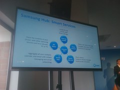 samsung hub: smart services