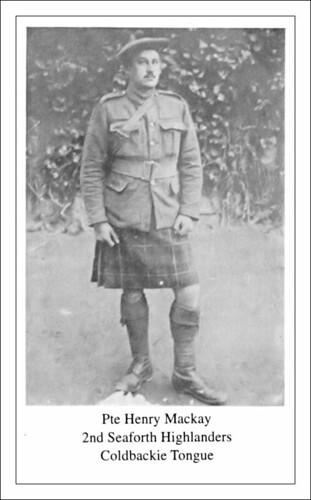 Henry Mackay 1891-1918 by ccgd