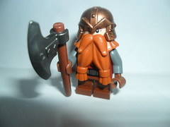 Gimli (G g) Tags: castle lego dwarf helmet lord ring lotr rings fantasy axe warrior gimli fellowship lordofhterings gloin legolotr