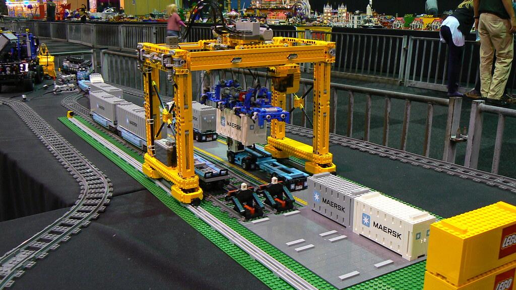 Technic Delicatessen Lego Technic Container Crane