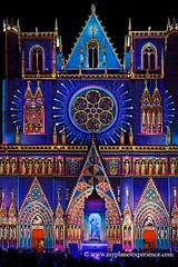 Festival of Lights / Fte des Lumires - Lyon (My Planet Experience) Tags: show france art church festival marie night french lights cathedral lyon artistic lumire mary cathdrale fte 2008 nuit festivaloflights stjean december8th artistique saintjean ftedeslumires 8dcembre vierge viergemarie cathedralstjean wwwmyplanetexperiencecom myplanetexperience