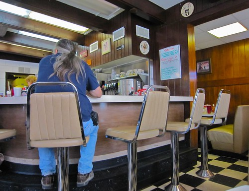 Amherst Diner Counter