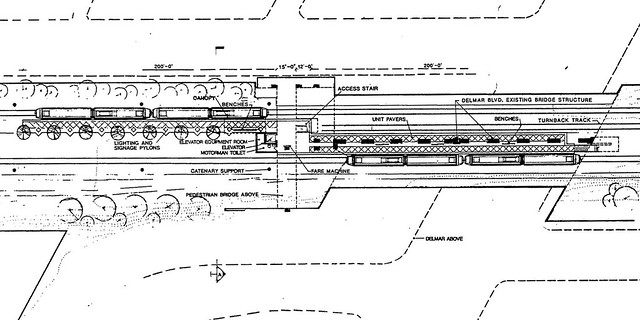 Delmar Plan - Platform Level