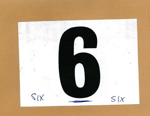 Race number 6