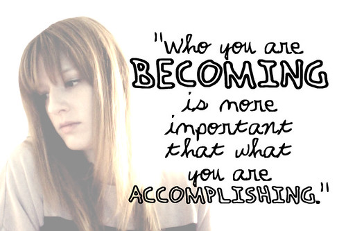 who you are becoming