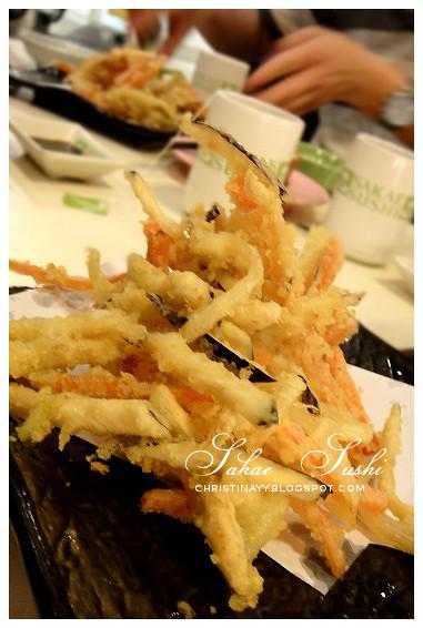 Dinner at Sakae Sushi Queensbay Mall