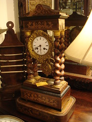 """French Empire shelf clock • <a style=""""font-size:0.8em;"""" href=""""http://www.flickr.com/photos/51721355@N02/6354310295/"""" target=""""_blank"""">View on Flickr</a>"""