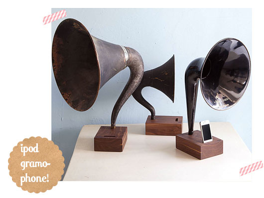 ipod-gramophone