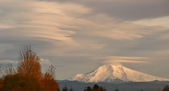 Sony a350 067 (3) Mt. Hood-Lenticular Clouds-Columbia Slough (Allen Woosley) Tags: clouds oregon mt columbia hood pdx slough lenticular a350