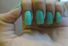 Craquelê (Michele Éssi.) Tags: nail unhas craquelê craquelado