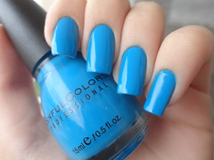 Aquamarine, Sinful Colors (Lady_Yaya) Tags: nail aquamarine polish nails unhas gringo varnish lacquer esmalte importado sinfulcolors