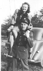 Robert_R_Clear (Easttexchem) Tags: soldier couple uniform uncle clear worldwarii 1945 strain greatestgeneration