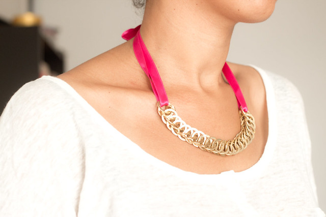DIY Collier gourmette