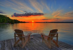 LUCKY (Rex Montalban Photography) Tags: sunset summer canada hdr photomatix rexmontalbanphotography 8imagesmerged