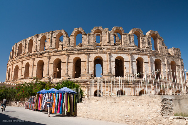 El Djem - Anfiteatro Romano